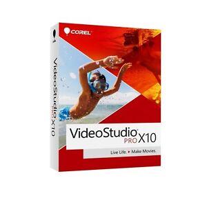 NEW Corel Video Studio X10 Pro Video Editing PC SEALED