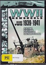 WORLD WAR II NEWSREELS - VOLUME 2 - 1939-1941 - DVD - NEW -