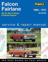 Ford - XR XT XW XY  Falcon Fairlane V8 1966-1972 Repair Manual