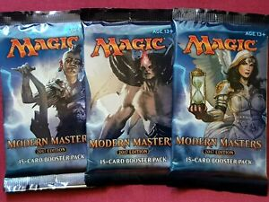 MTG Magic The Gathering MODERN MASTERS 2017 MM3 New Sealed Booster ALL PACK ART