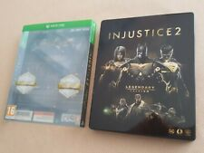 Injustice 2 Legendary Edition Steelbook & Steelcard * VGC * No Game Included