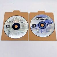 Cool Boarders 3 & 4 PS1 PlayStation 1 Snowboarding Game Disc Only 2 Game Lot