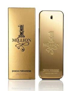 Paco Rabanne 1 Million 200Ml For Men Eau De Toilette Spray **Brand New**