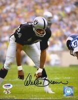 Willie Brown Raiders  Hof Signed Psa/dna  8x10 Photo Autograph Authentic
