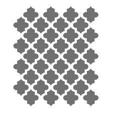 Moroccan Stencils - small scale - For Crafting Canvas DIY decor furniture