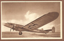 1943 Air FRANCE Airlines Postcard Languedoc 161