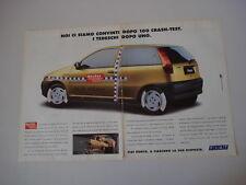 advertising Pubblicità 1994 FIAT PUNTO
