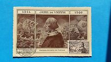 FRANCE CARTE MAXIMUM YVERT 544 AMIRAL JEAN DE VIENNE 1F50 + 8F50 PARIS 1943