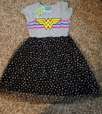Girls SZ 7/8 Wonder Woman Tutu Dress~NWT~