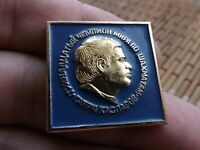 Vintage Badge Pin 13th World Chess Champion,Garry Kasparov,USSR