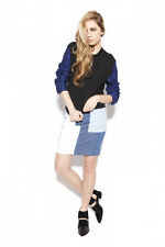 Gorgeous 3.1 Philip Lim white denim skirt, size US 4, AUS 8-10
