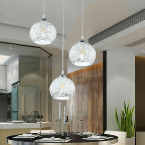 E27 Lampadario Moderno LED da Soffitto Sospensione Luce di Pendente Bar