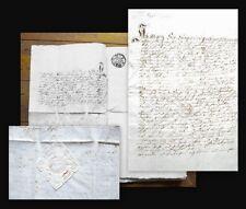 1795 Lauingen Familie Six Taufbrief Handschriftliches Dokument
