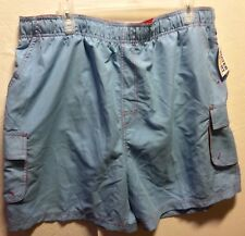 Mens Water Sport Light Blue Swim Trunks Board Shorts  Shorts Size XL 40-42 NWT