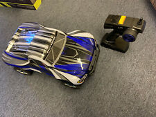 Exceed RC Short Course Truck RTR Nitro Gas RC Car Stripe Blue w/Electric Starter