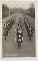 "Essex postcard - Dagenham Girl Pipers, ""On the March"" - RP"