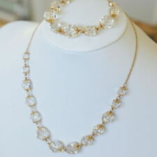 Crystal Gold Filled Vintage & Antique Jewellery