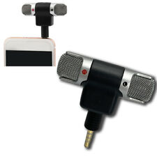 TRRS External Stereo Mini Microphone 3.5mm Personal Smartphones Mobile Phone