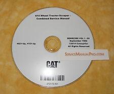 SENR2386 Caterpillar 615 Wheel Tractor Scraper Service Repair Shop Manual OEM