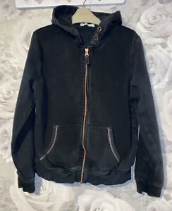 Girls Age 11-12 Years - M&S Black Hooded Zip Up