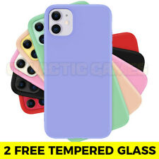 For Apple Silicone Case iPhone 11 Pro X XR XS MAX 6 8 7 Plus SE 2020 Slim Rubber