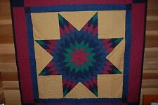 Amish Quilt Brand New-Bold And Brilliant Colors
