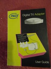 Manual for Pace DVTA CV3 digital TV set top box