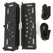 NEW SET OF UNISSUED ALICE PACK FRAME CARGO SUPPORT SHELVES AND 2 LASHING STRAPS
