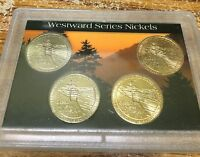 2005 Westward Series Set of Four Nickels (s16)