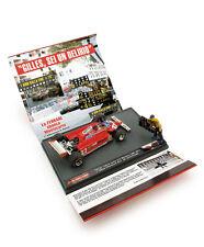"1:43 Diorama Brumm Ferrari 126 CK Gilles Villeneuve Monaco 1981 ""30 Aniversary"""