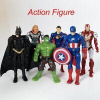 Avengers Marvel Super Hero Toys Action Figures IronMan Thor Hulk Captain America