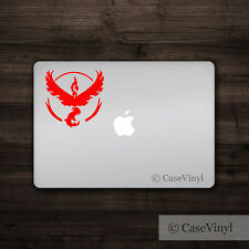 Pokemon Go Red Team Valor - Vinyl Decal - Multiple Colors Sticker Car Macbook