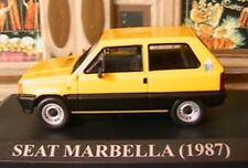 SEAT MARBELLA 1987 IXO JAUNE YELLOW 1/43 IXO ALTAYA NEW GELB CAR MINT BOX