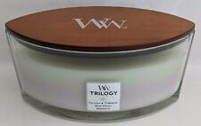 Yankee Candle~WoodWick~16 oz~Trilogy Fig Leaf & Tuberose, Wild Violet, Magnolia