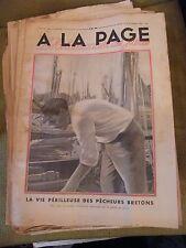 A la page N°128 Septembre 1932 Pêcheurs Bretons