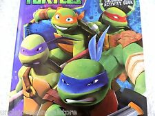 TEENAGE MUTANT NINJA TURTLES Color & ACTIVITY Book *Ages 3+ CODE Of HONOR !