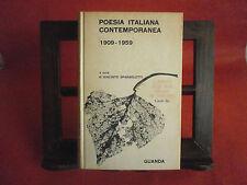 """Spagnoletti (a cura di) """"Poesia italiana contemporanea"""" – Guanda, 1964"""