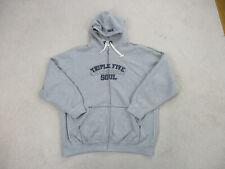 VINTAGE Triple Five Soul Sweater Adult 3XL XXXL Gray Blue Spell Out Hoodie Men *