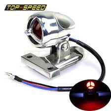 LED Brake Tail Light Integrated License Plate Lamp For BMW Harley Bobber Chopper