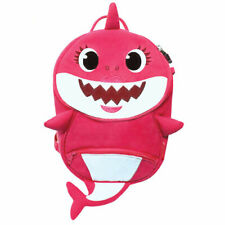 Pinkfong Shark Family Anti-lost Harness Backpack Safety Cute Design
