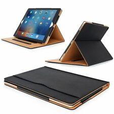 "Case  for iPad Pro 12.9"" Black Tan Smart Magnetic Screen Protector 2017 2018"