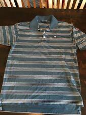 DUNNING Men's Short Sleeve Polo GOLF Shirt sz Medium
