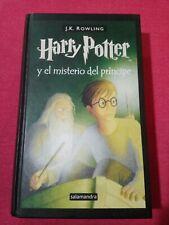 Libro 6 Harry Potter Y El Misterio Del Príncipe Primera Edición J.K.Rowling