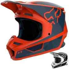 Fox Racing V1 Przm MX Youth DOT Dirt Bike Off Road Motocross Helmets