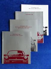 Porsche 911 Carrera Typ 964 MJ 1990 - Prospekt Brochure + Preise + Daten 08.1989