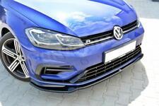 Facelift Golf 7 R R-Line Front Diffusor Lippe Spoilerlippe Ansatz VW VII FD3