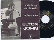 ELTON JOHN Lucy In The Sky With Diamonds Norwegian 45PS 1974