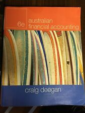 Australian Financial Accounting 6e Craig Deegan - PB, 2009