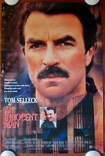 AN INNOCENT MAN Orig.1989 27x40 Movie Poster TOM SELLECK ROLLED MINT CONDITION!