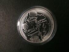 2018 $2 1oz Niue New Zealand Mint Star Wars Stormtrooper Silver Bullion coin